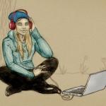 El mercado de la música digital y Last.fm, un servicio que se contrae pero no cierra