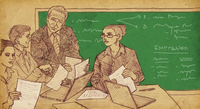 ¿Qué pueden hacer las universidades para acompañar el desarrollo emprendedor? ILUSTRACIÓN DE ALEJANDRO MIGUELES